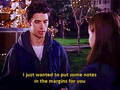 Pin for Later: 30 Gilmore Girls Quotes That Summarize Your Life So Well When You Lend Someone Your Favorite Book and You Just Want Them to Appreciate It