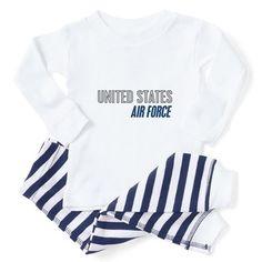 97d3e767 U.S. Air Force Toddler Pajamas on CafePress.com Toddler Pajamas, Sleep Set,  Child