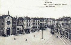 Milano. Piazza Missori: San Giovanni in Conca