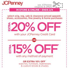 jcpenney credit card cash advance
