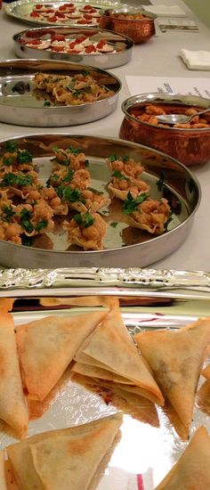 Recipes for Indian finger food ideas - perfect for a holiday party! #BigAppleCurry
