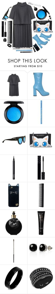 """""""style"""" by sandevapetq ❤ liked on Polyvore featuring Mulberry, MSGM, MAC Cosmetics, Too Faced Cosmetics, Quay, NARS Cosmetics, Gucci, GHD, Valentino and Urban Decay"""