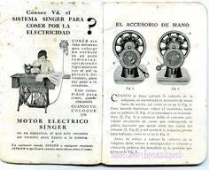 Manuel Cabello y Esperanza Izquierdo: El blog de Ocurris: Instrucciones para la Máquina de Coser Singer