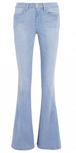 Le High Flare High-Rise Jeans; they are beautiful.
