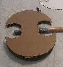 Billedresultat for how to make a knight helmet out of cardboard
