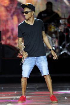 pharrell-ugh his style !! he's amazing.