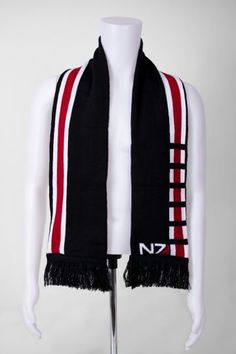 Show Off Your Gamer Pride with This N7 Scarf #scarf trendhunter.com