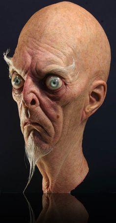 Mortimer Von Died by Arturo Balseiro. Silicone mask with resin eyes Arte Horror, Horror Art, Alien Concept, Concept Art, Level Design, Caricatures, Arte Black, Zombies, Special Makeup