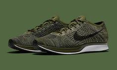 Nike Flyknit Racer Rough Green