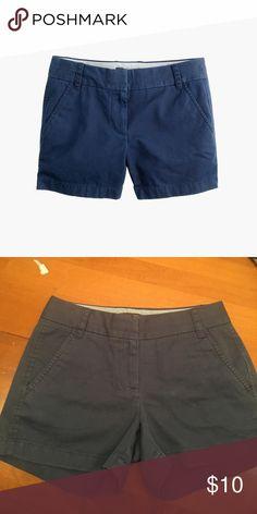 J. Crew chino shorts Like new J. Crew Shorts