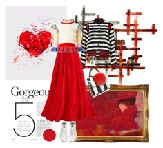"""""""Sin título #651"""" by angstylist on Polyvore featuring moda, Fox, MSGM, Reem Acra, Alexander McQueen, Vans y Les Petits Joueurs"""
