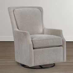 Trent Swivel Glider Gliders Sitting Rooms And Living Rooms - Swivel glider chairs living room