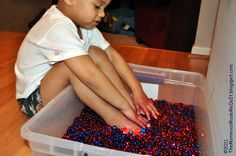 The Mommies Made Me Do It: Wading in Water Beads