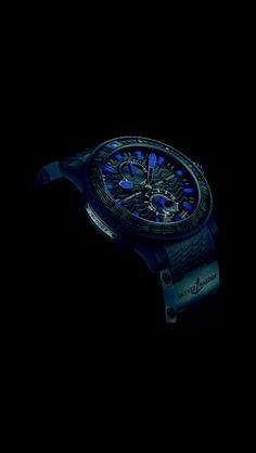 Watches of Distinction: Ulysse Nardin's Black Sea 2013 Wrist Watch. AWESOME!