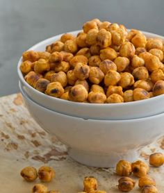 High-Protein Snacks: Spicy Roasted Chickpeas