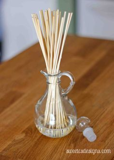 Make your own reed diffuser for under $10