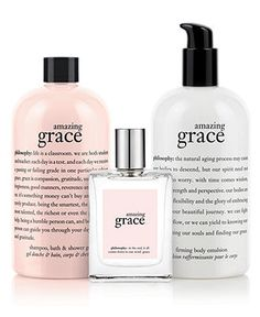 philosophy amazing grace collection - Makeup - Beauty - Macy's. love love love love this line!!! leaves skin feeling amazing:)