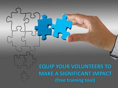 Equip Your Volunteers to Make a Significant Impact (Free Training Tool) ~ RELEVANT CHILDREN'S MINISTRY