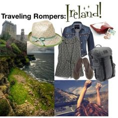 Traveling rompers: Ireland Kinds Of Clothes, Ireland, Traveling, Rompers, Stylish, Polyvore, Jackets, Fashion, Viajes