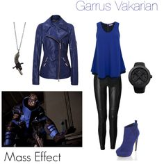 I like this outfit, I have no idea who this Mass Effect character is.