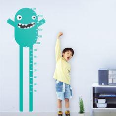 18.Monstruito 2 Medidas: 56x150 cm Precio: 70 € Nota: Este diseño se colocará a una altura de 10 cm desde el suelo, para que se corresponda con la medida real del medidor.