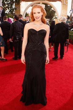 Top 10 Looks Golden Globes 2014 - Best Red-Carpet Dresses Golden Globes 2014 - ELLE#slide-1
