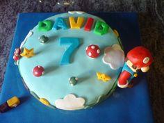 Tarta decorada con fondant Mario Bros / Mario Bros cake