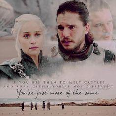 G A M E O F T H R O N E S [ Jon & Dany 7x04 ] #GameofThrones #Jonerys #daenerys #JonSnow