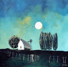 Artwork of Glendine exhibited at Robertson Art Gallery. Original art of more than 60 top South African Artists - Since Art And Illustration, Illustrations, Landscape Artwork, Abstract Landscape, Abstract City, South African Artists, Mini Canvas Art, Building Art, Naive Art