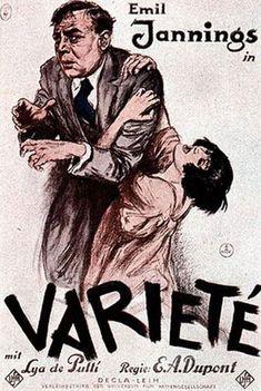Das war sehr, sehr stark: E. A. Duponts Stummfilm #VARIETÉ (D 1925) bei Jazz in Schwarz und Weiß im #METROPOLIS #Kino. Erstklassige Musikbegleitung durch Ulrich Kodjo Wendt (Akkordeon) und Hans-Christoph Hartmann (Saxophon)! Und ein toller Film mit einer virtuosen Kameraarbeit.