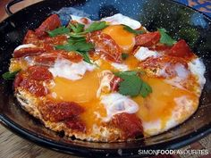 Turkish Sausage (Sucuk) With Eggs