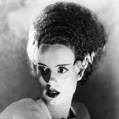 "Elsa Lanchester en ""La novia de Frankenstein"",..."