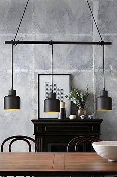 Det behøver ikke koste en krig at skifte dine lamper ud. Yellow Accent Chairs, Led Desk Lamp, Modern Kitchen Design, Inspired Homes, Spotlights, Lighting Design, Floor Lamp, Light Fixtures, Ceiling Lights