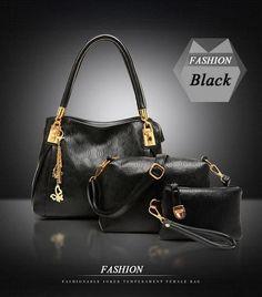 Women Bag Leather Handbags Messenger Composite Bags Ladies Designer Handbags Famous Brands Fashion Bag For Women 3pcs/set