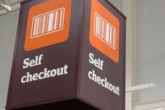 Self checkout by J Sainsbury, via Flickr