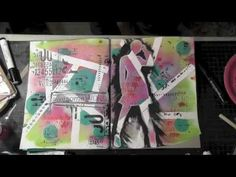 Join me every friday for a fun Mixed Media tutorial from ARt Journaling, to scrapbooking, card making, canvas creations and a whole lot more!  Enjoy!!!  You can find all The Crafter's Workshop Stencils, Lindy's Stampg Gang Sprays and Faber Castell Design Memory Craft markers at The Flying Unicorn - http://www.flyingunicornstore.com