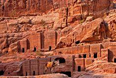 city of petra   Petra, Jordan, is a city of ancient tombs. Photo #6 by nemomemini