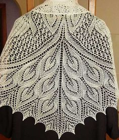Discover thousands of images about Shawl Crochet Free Pattern Knitted Shawls, Crochet Shawl, Crochet Lace, Free Crochet, Animal Knitting Patterns, Knitting Designs, Knit Patterns, Peacock Crochet, How To Purl Knit