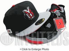 Yakima Bears Black Grey Scarlet Side MiLB NWL AJ IV Black Cement New Era Hat UP NOW ON MYFITTEDS.COM