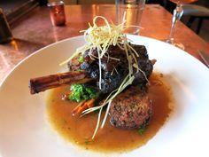 Aspen, Colorado Restaurants | Tender caramelized Colorado lamb at Justice Snow's - Photo by Andrew Harper
