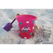 personalized bucket instead of a gift sack