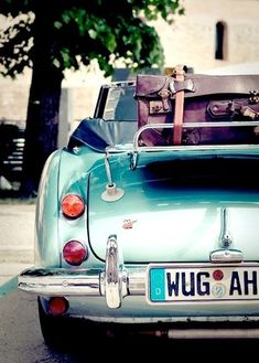 I want to travel around the world with this car or a motorcycle! Love it