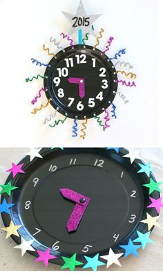 Countdown Clock Craft | DIY New Years Eve Decorations for Kids | DIY New Years Eve Party Ideas for Kids