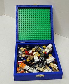 lego man storage/travel lego box