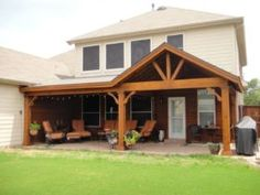 Full Gable Patio Covers Gallery - Highest Quality Waterproof Patio Covers in Dal. - Full Gable Patio Covers Gallery – Highest Quality Waterproof Patio Covers in Dallas, Plano and Su - Backyard Covered Patios, Covered Patio Design, Small Backyard Patio, Outdoor Pergola, Diy Patio, Outdoor Rooms, Modern Pergola, Small Pergola, Covered Pergola