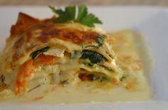 Hot off the Garlic Press: Lemon Garlic Béchamel Vegetable Lasagna