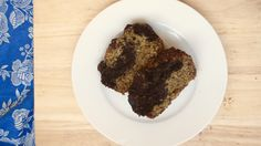 Marble banana bread - vegan, refined sugar free, oil free - Sprouting Up