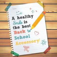 MAKE A GOOD IMPRESSION on the first day of school with a bright, healthy smile!  Palm Valley Pediatric Dentistry