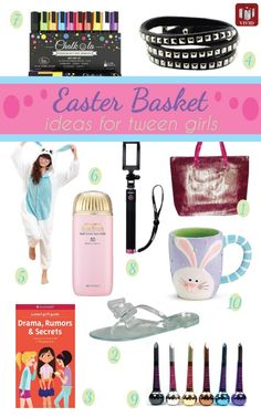 Easter gifts for a tween girl springeditbabbleboxx ad easter basket for tween girls 10 cool ideas negle Images