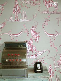 Image of WILD WEST TOILE